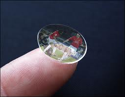 3D Contact Lenses are Being Designed   3D TV
