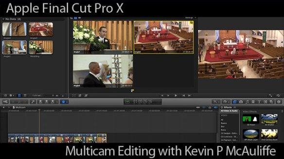 Multicam Editing in Final Cut Pro X : Apple FCPX Techniques Tutorial