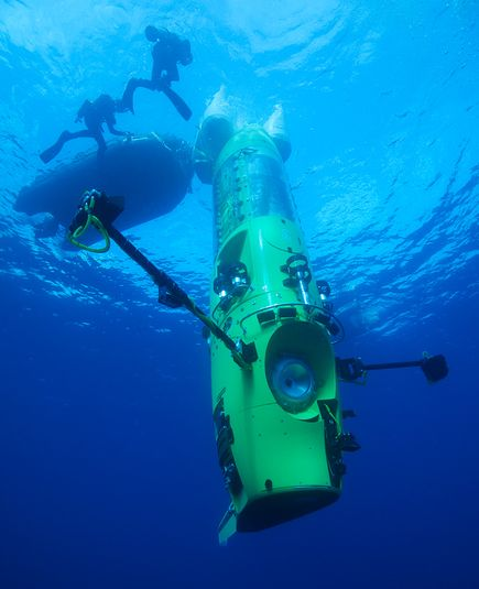 Video -- James Cameron Breaks Solo Dive Record -- National Geographic