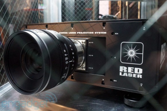 REDray 4K cinema laser projector and player eyes-on (video) -- Engadget