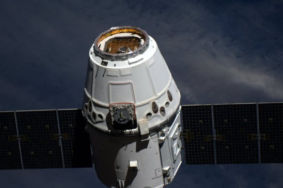 Dragon attached to ISS, a milestone for spaceflight | André Kuipers