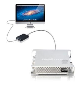 Matrox MXO2 Thunderbolt - Encoding and Broadcast Monitoring