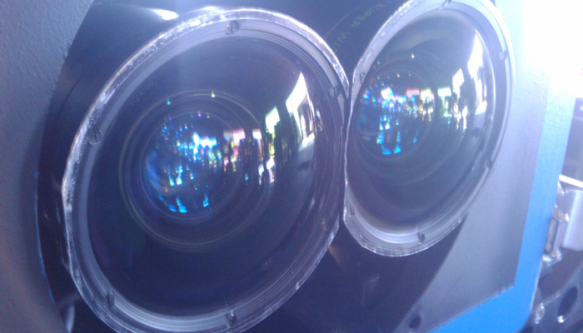 Flat vs. Dome port test on wide focal length lens for 3D at Pedro Guimaraes, SOC ~ Life Behind the Lens
